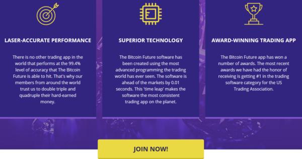 Bitcoin Future features
